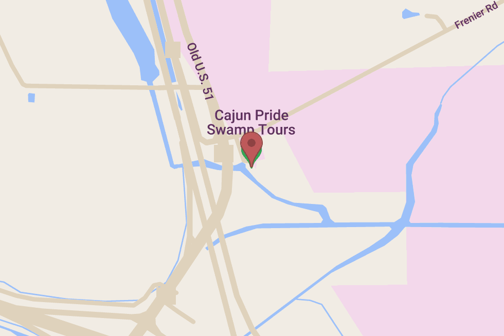 Cajun Pride Tours location map
