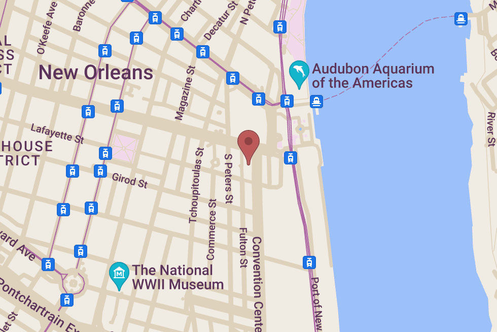 Grand Isle Restaurant location map