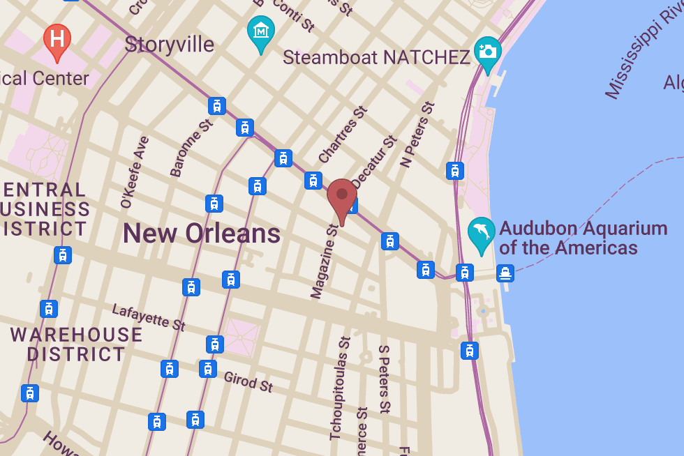 St. Christopher Hotel location map