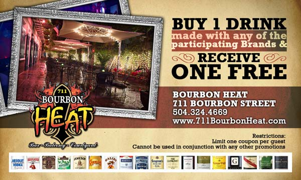 Coupon for Bourbon Heat