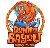 Down the Bayou Shrimp Tours logo